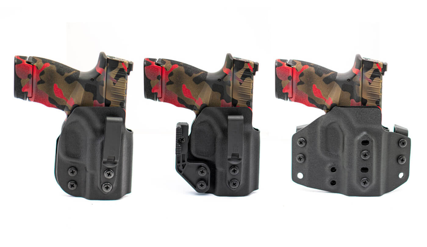 Trifecta holsters by Weber Tactical