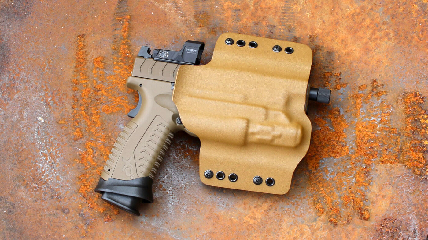 Ares Tactical Holster with XD-M pistol