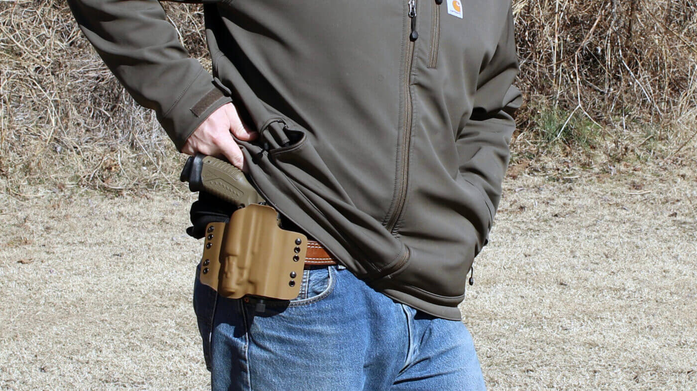 Carrying the XD-M Elite