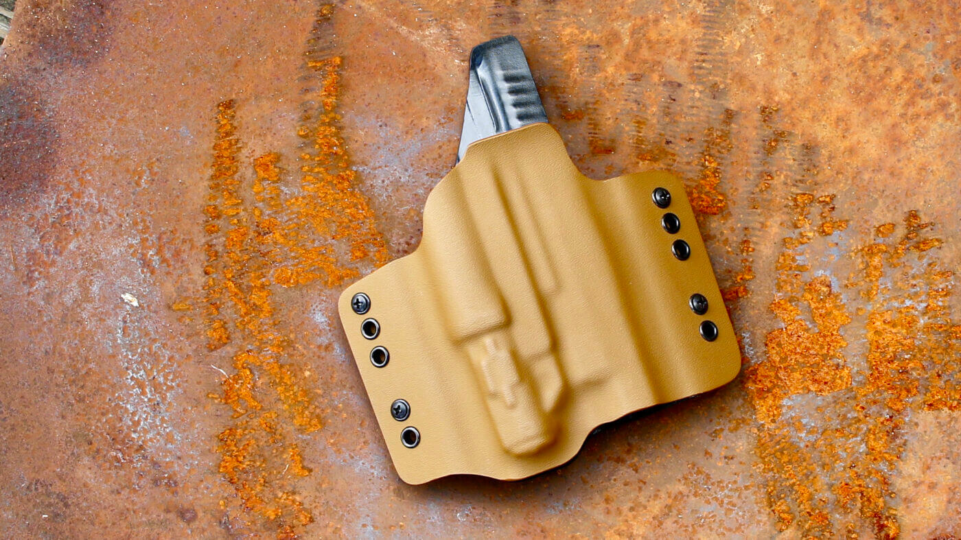 Cut of Ares Tactical holster