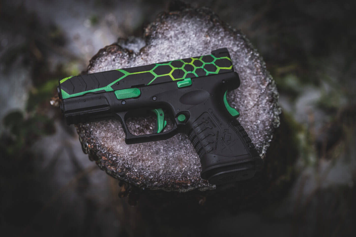 Colored guns