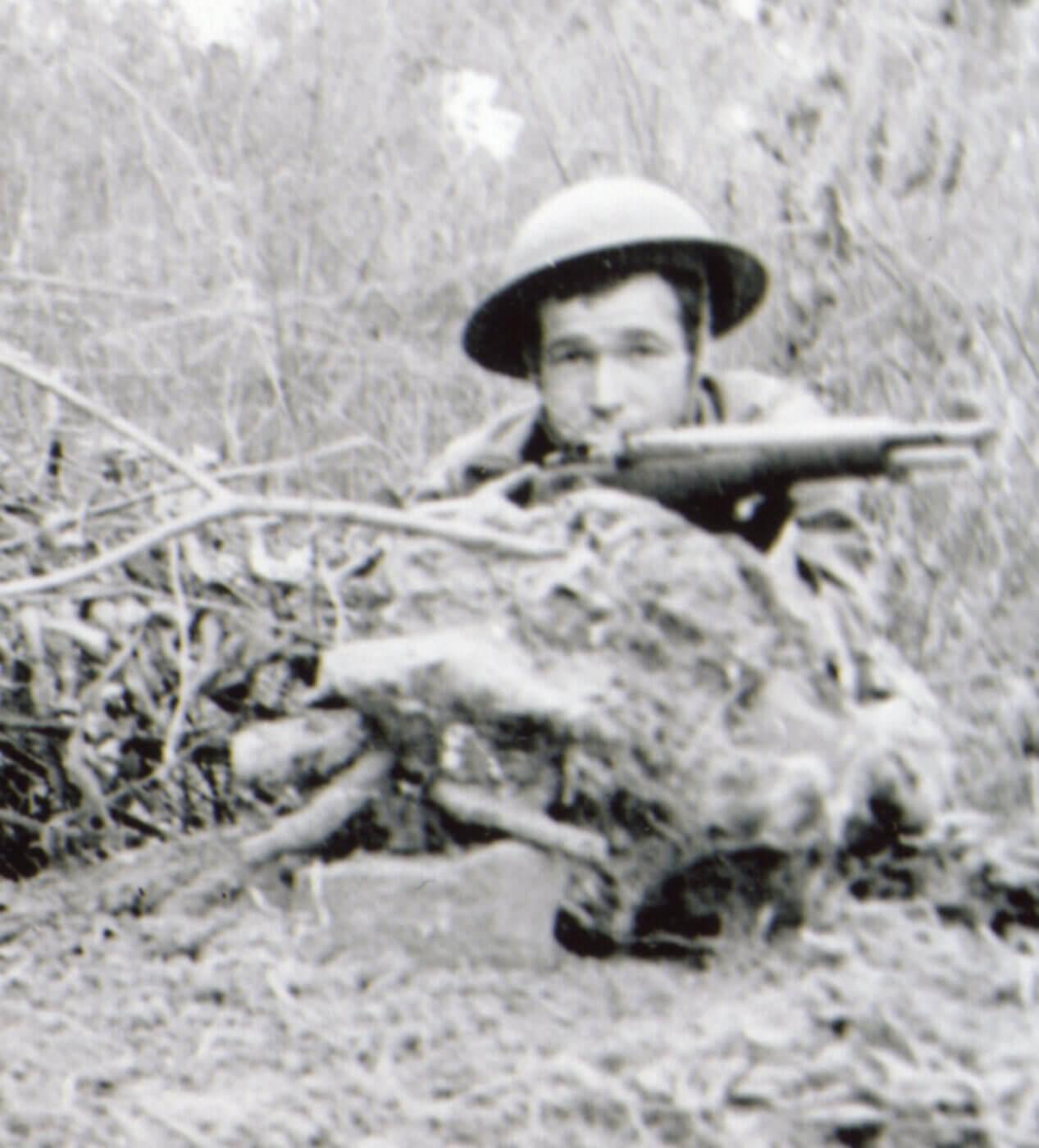 M1 Garand in action at Bataan