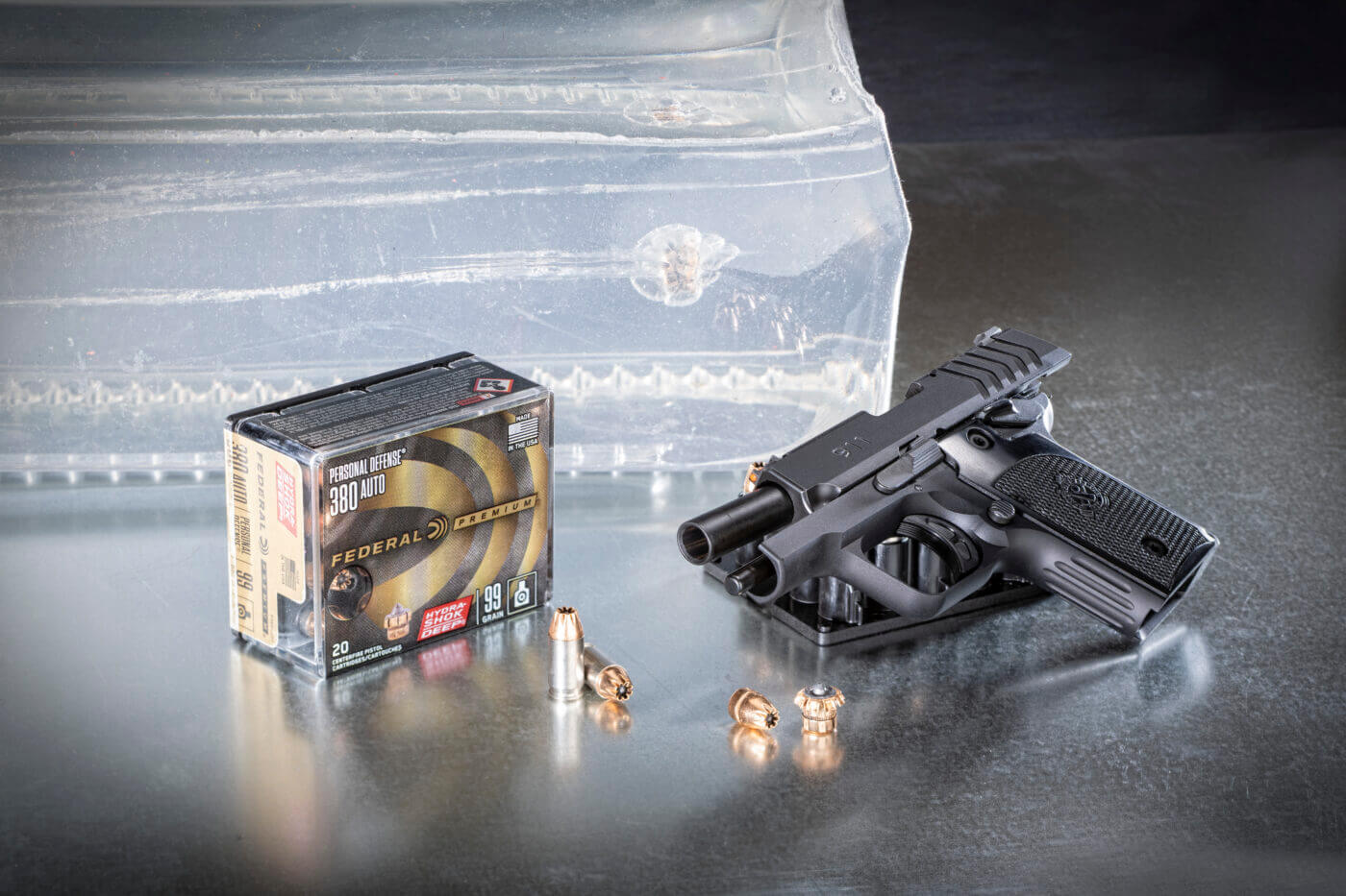 Federal Hydra-Shok Deep .380 with pistol
