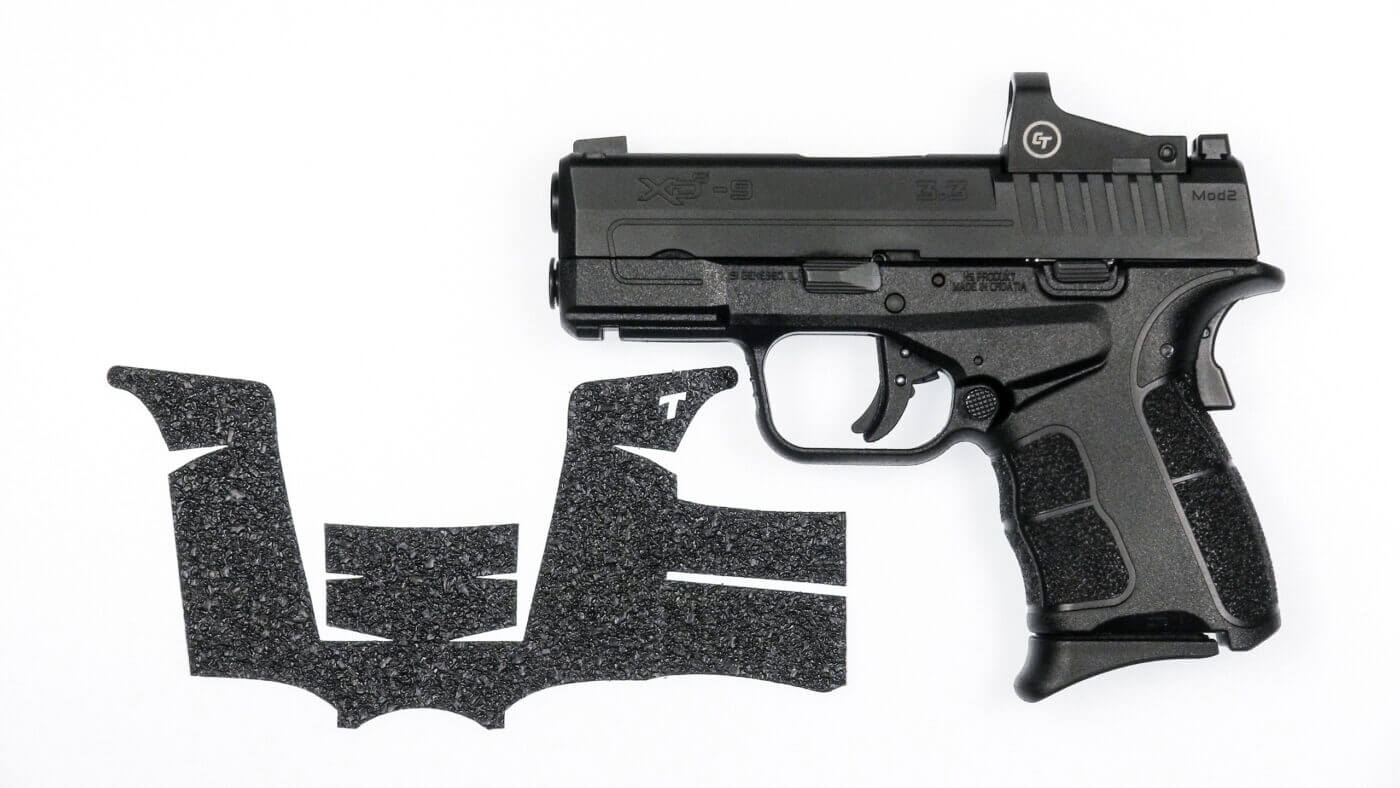 Talon Grips on an XD-S Mod.2 pistol