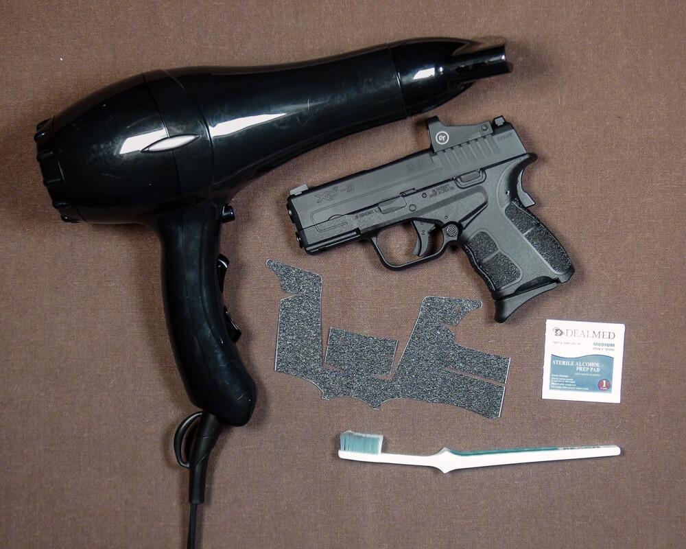 Tools needed to install Talon Grips on Springfield pistol
