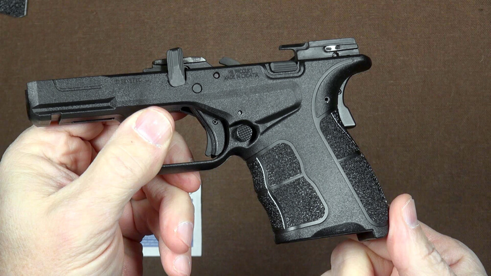 Making the gun safe before starting the  modification work