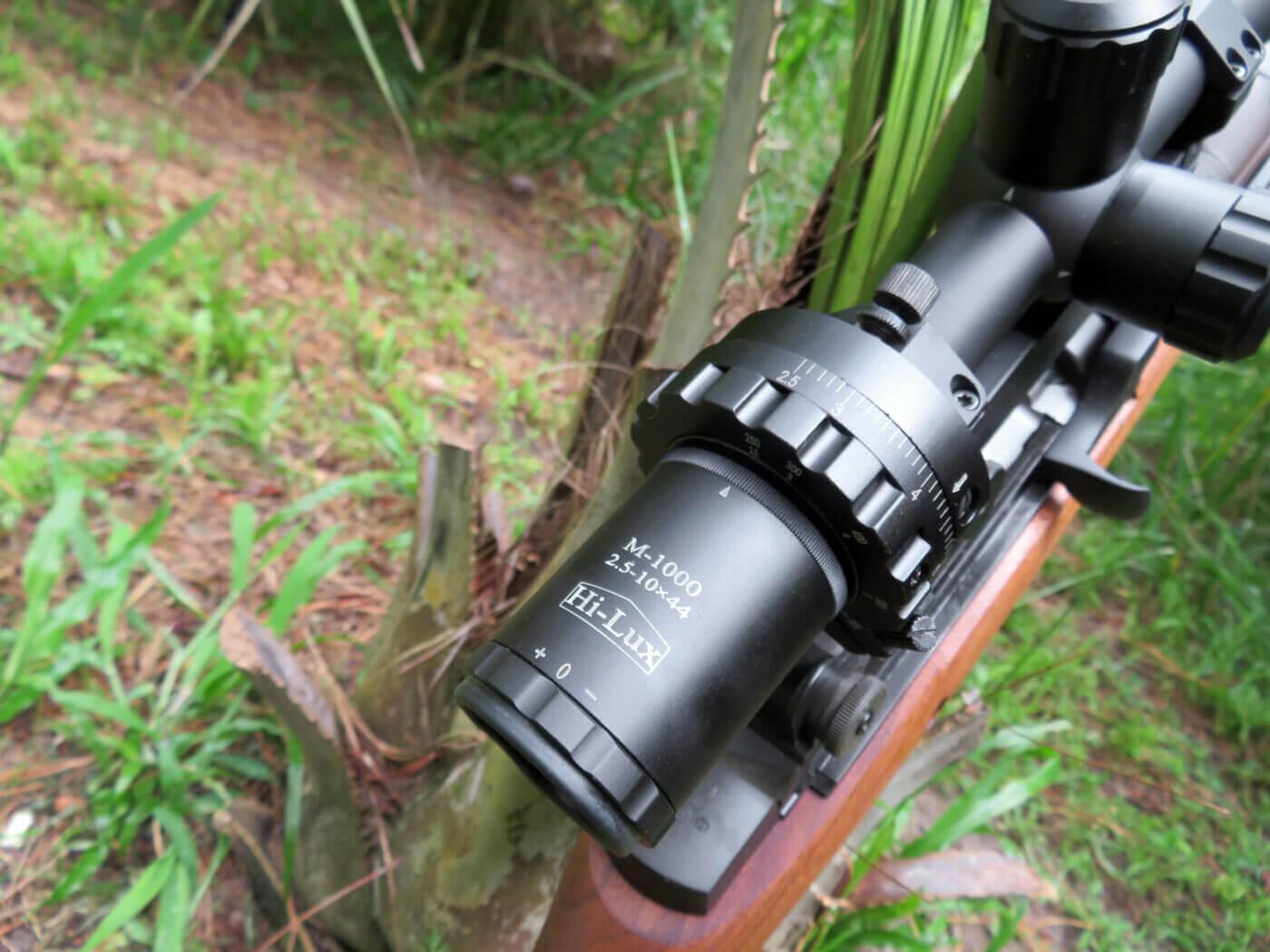 Hi-Lux ART scope zoom ring