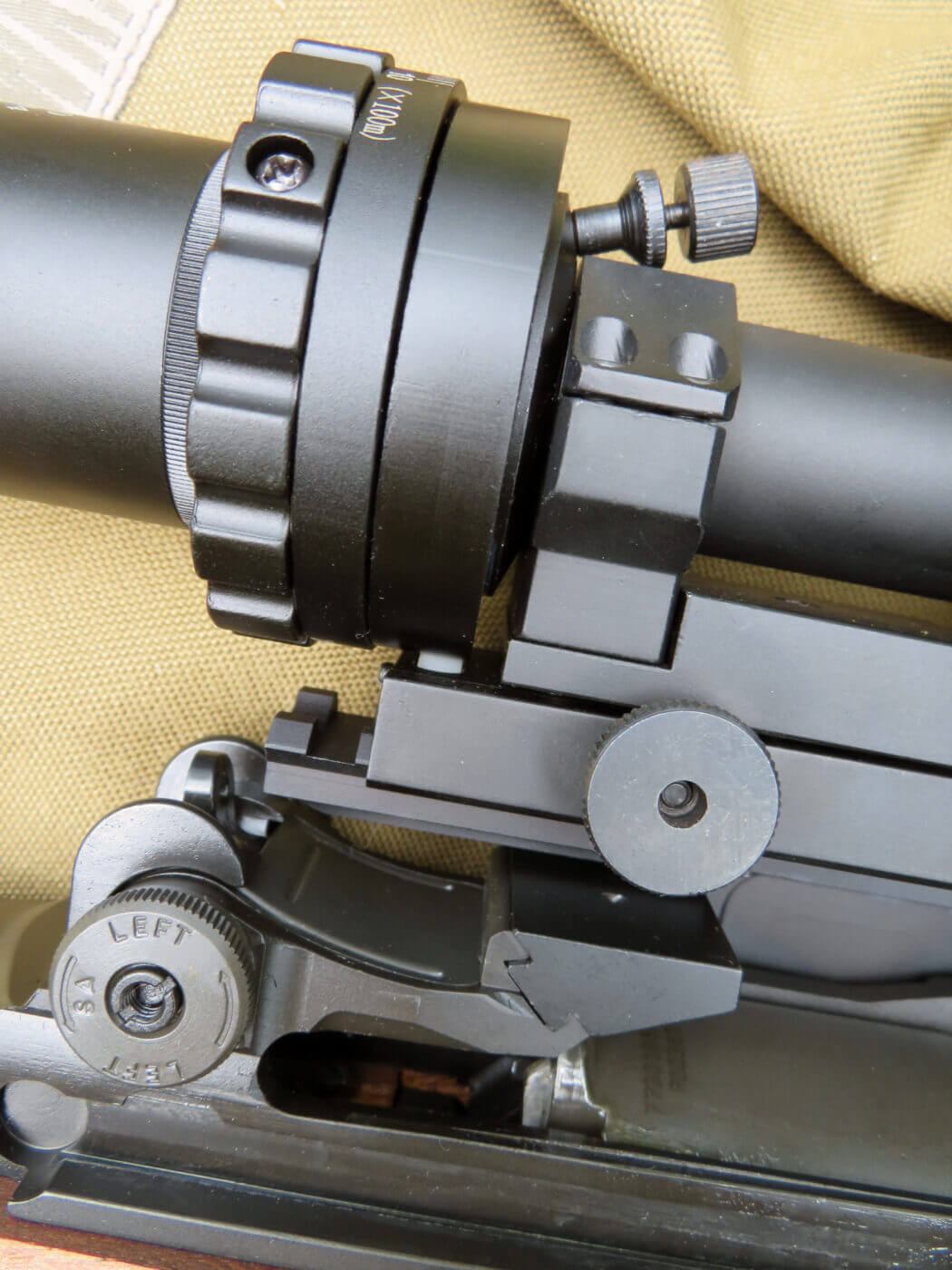 Magnification ring on ART rifle scope