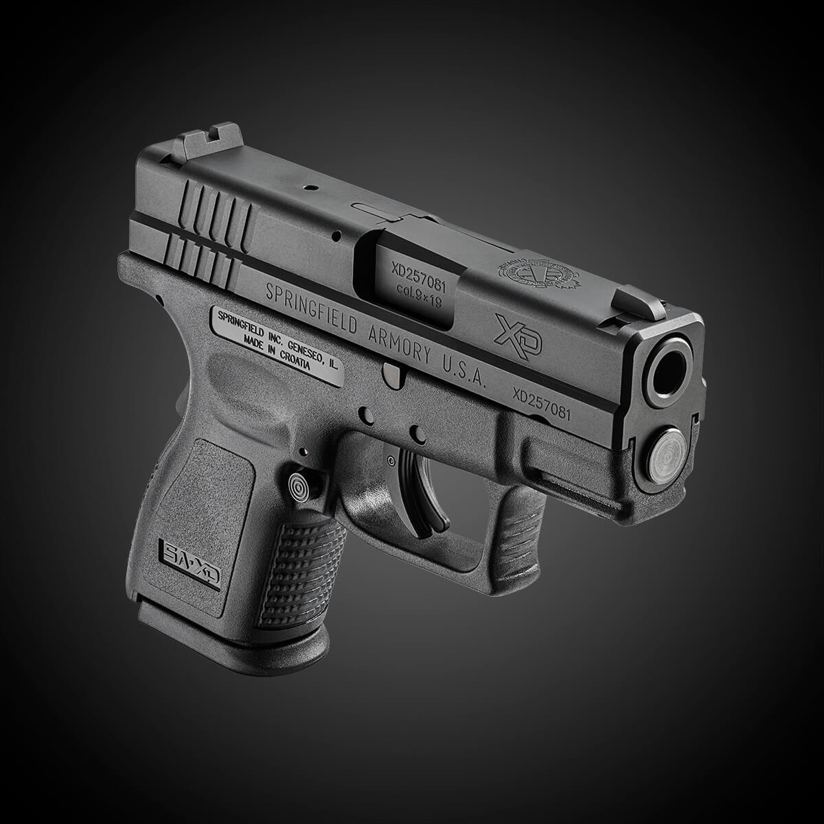 "Springfield Armory XD 3"" Sub-Compact handgun"