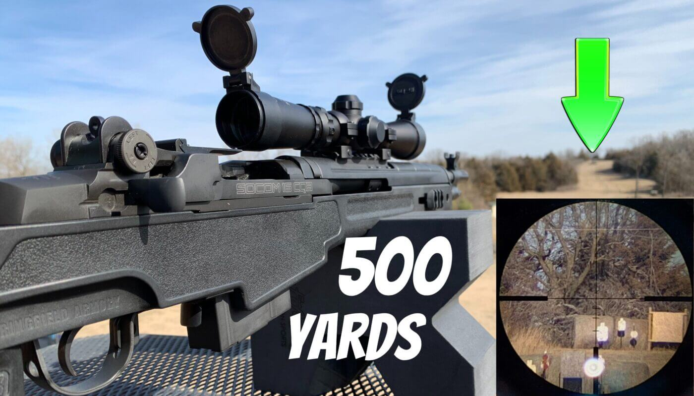 Hi Lux scout scope on M1A rifle