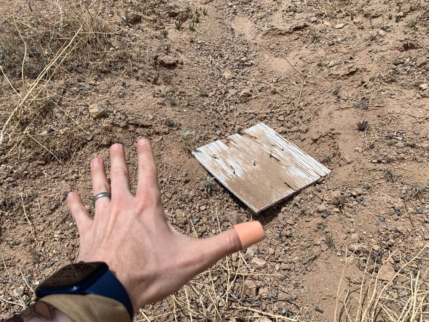 Improvised long range target