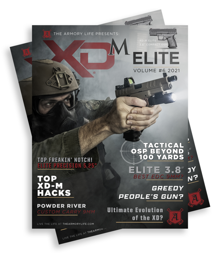 Cover for The Armory Life Digital Magazine Volume 6: XD-M Elite