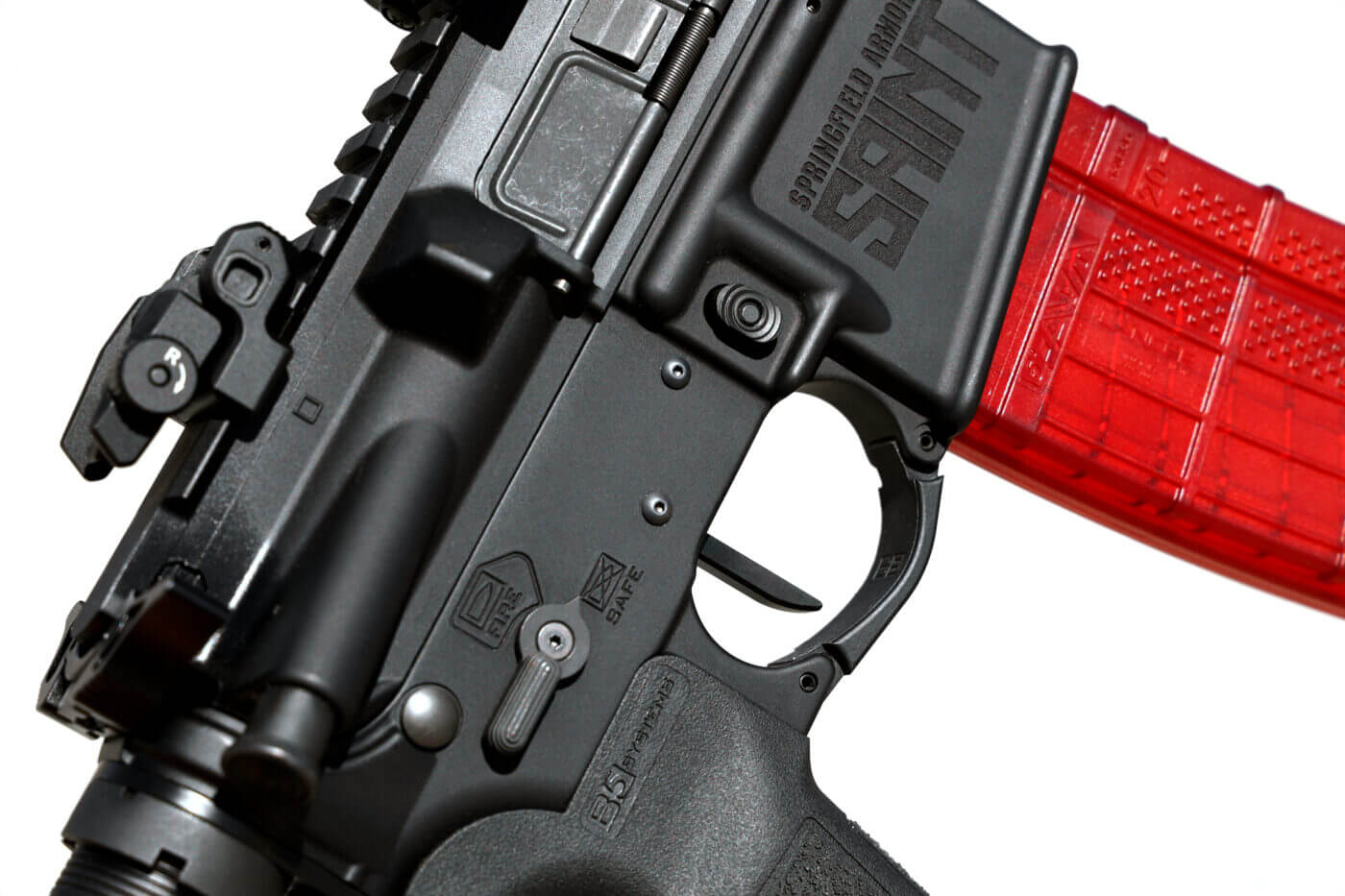 Rise Armament trigger installed in SAINT rifle