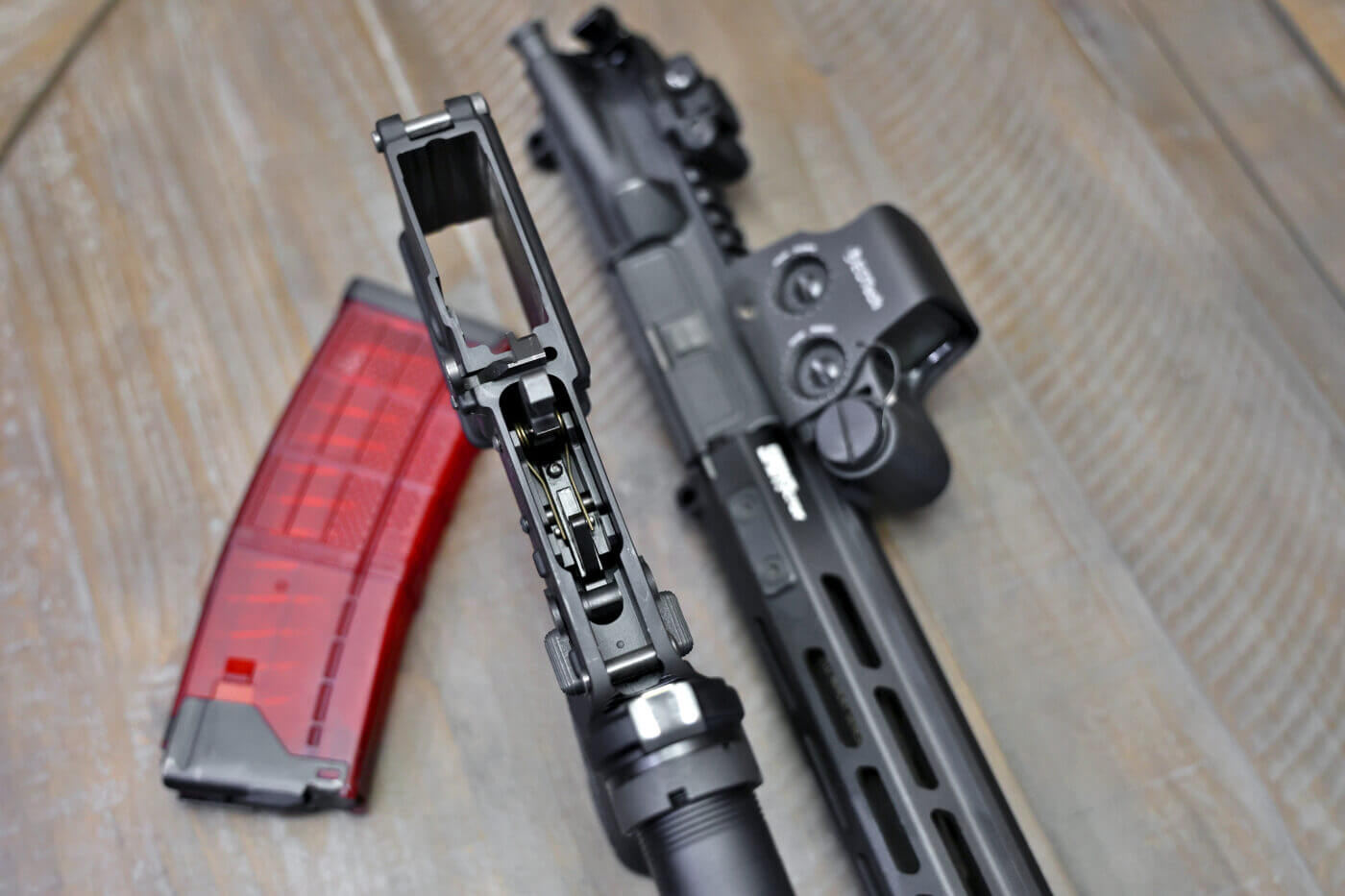 Installing custom trigger in SAINT AR rifle