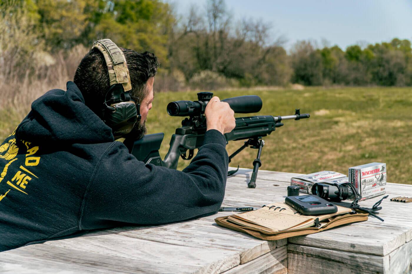 Testing the FDN 25X on the range