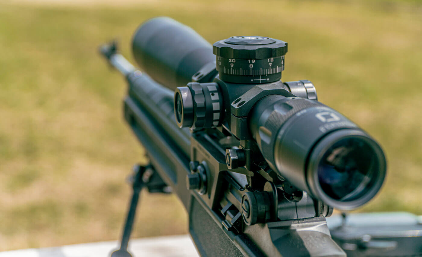 Setting up rifle and scope for accuracy testing