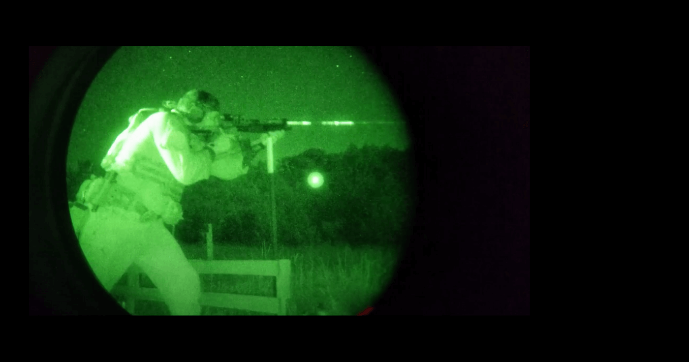 Night shooting in competition