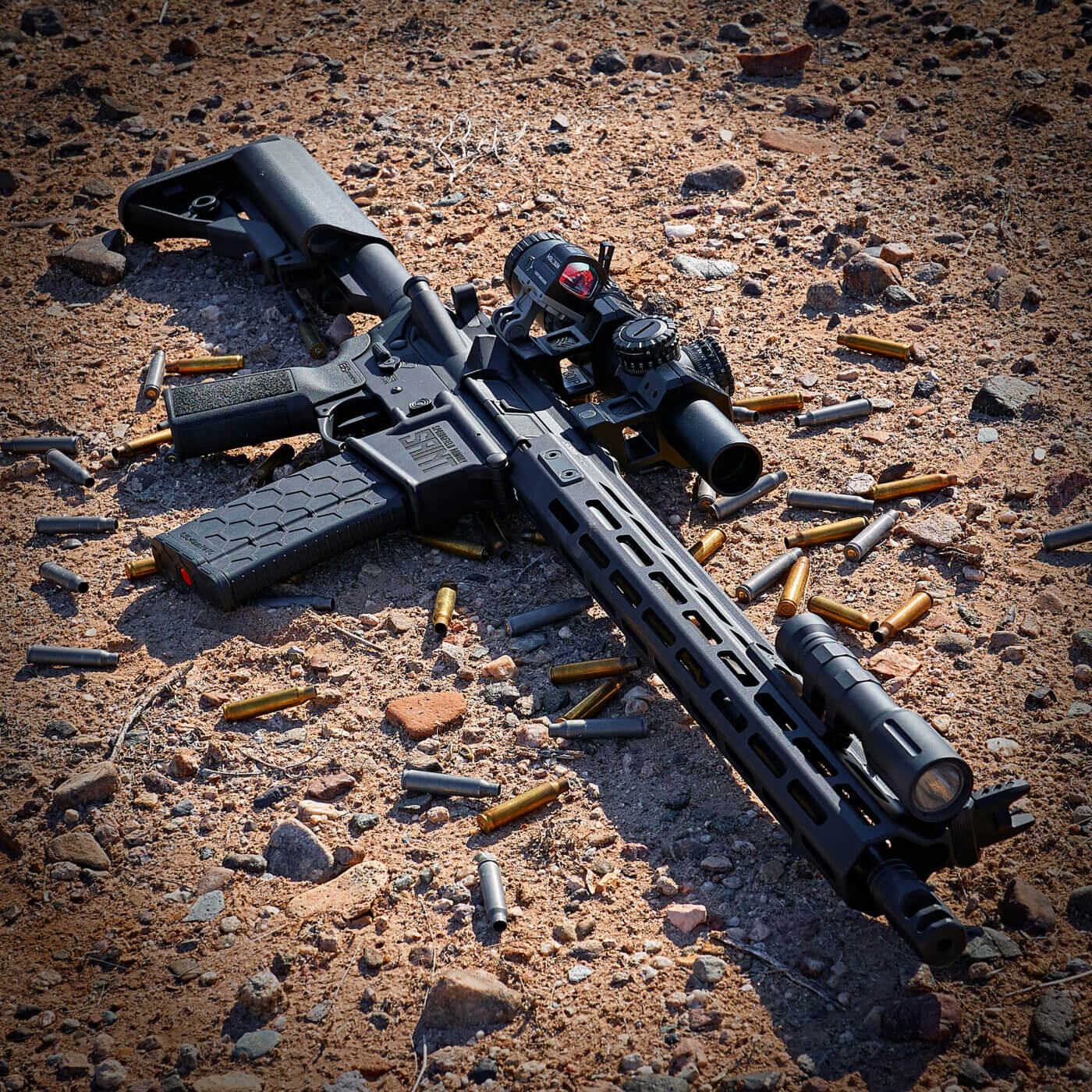 Field testing the Springfield SAINT rifle with Tula Russian ammo