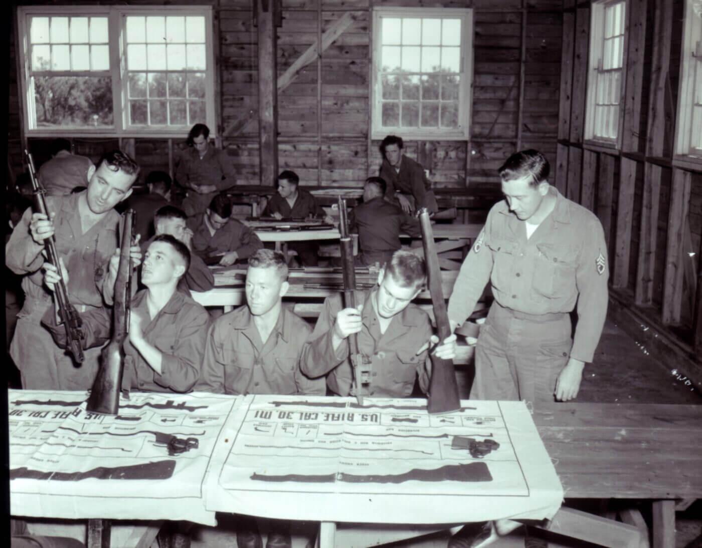 M1 rifle instruction mat