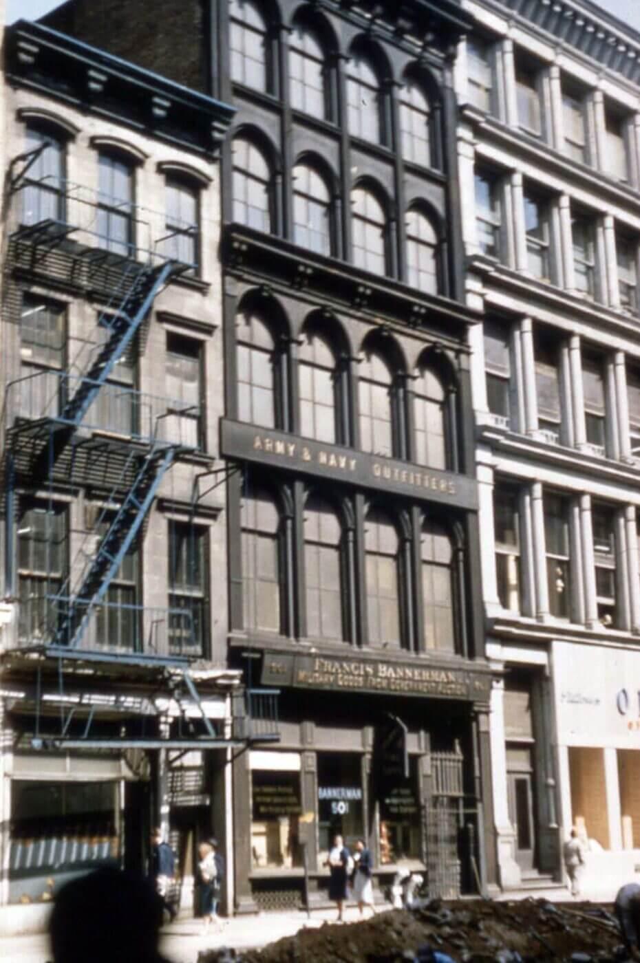 Bannerman Broadway milsurp store