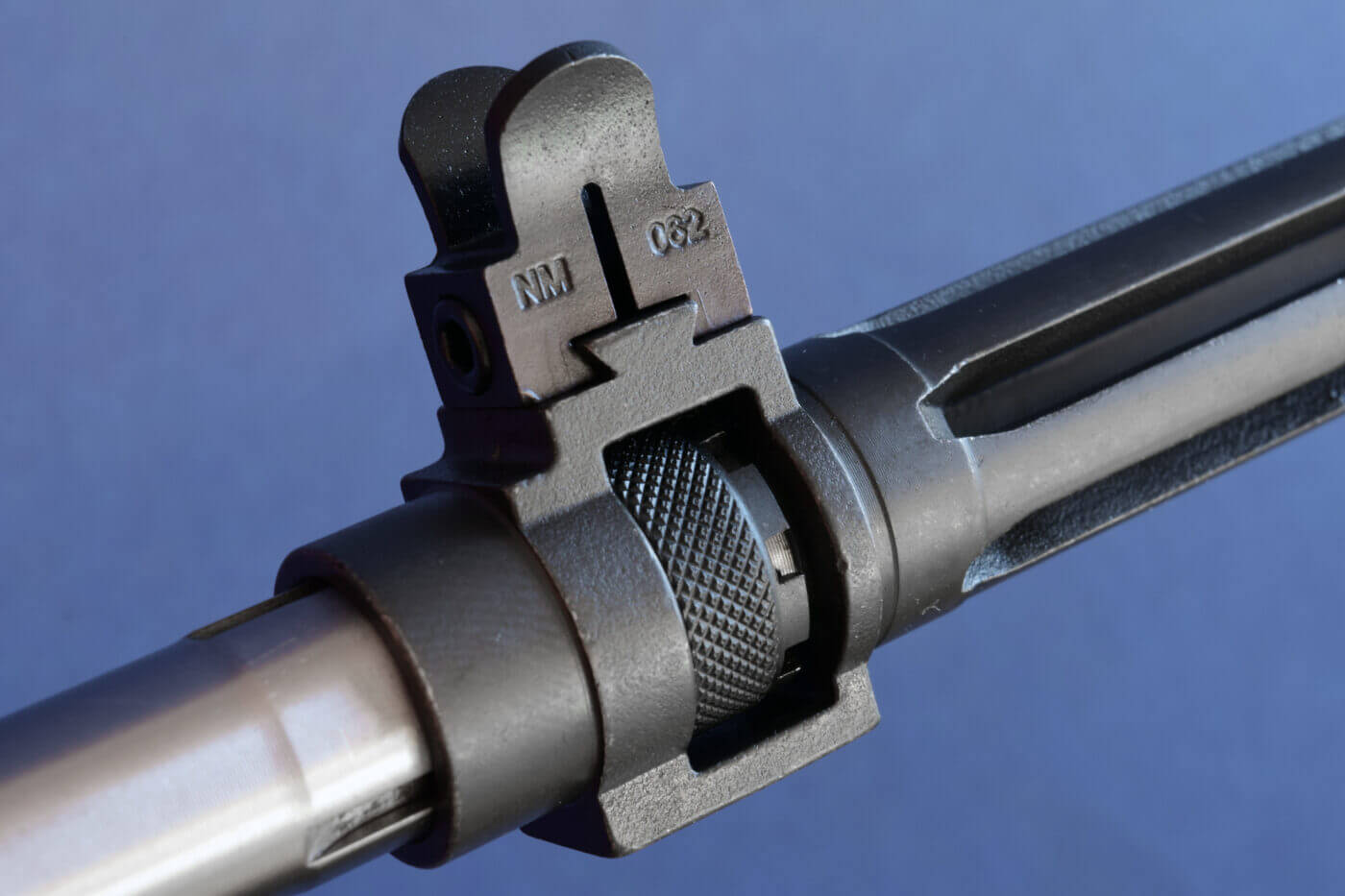 Front sight on an M1A rifle