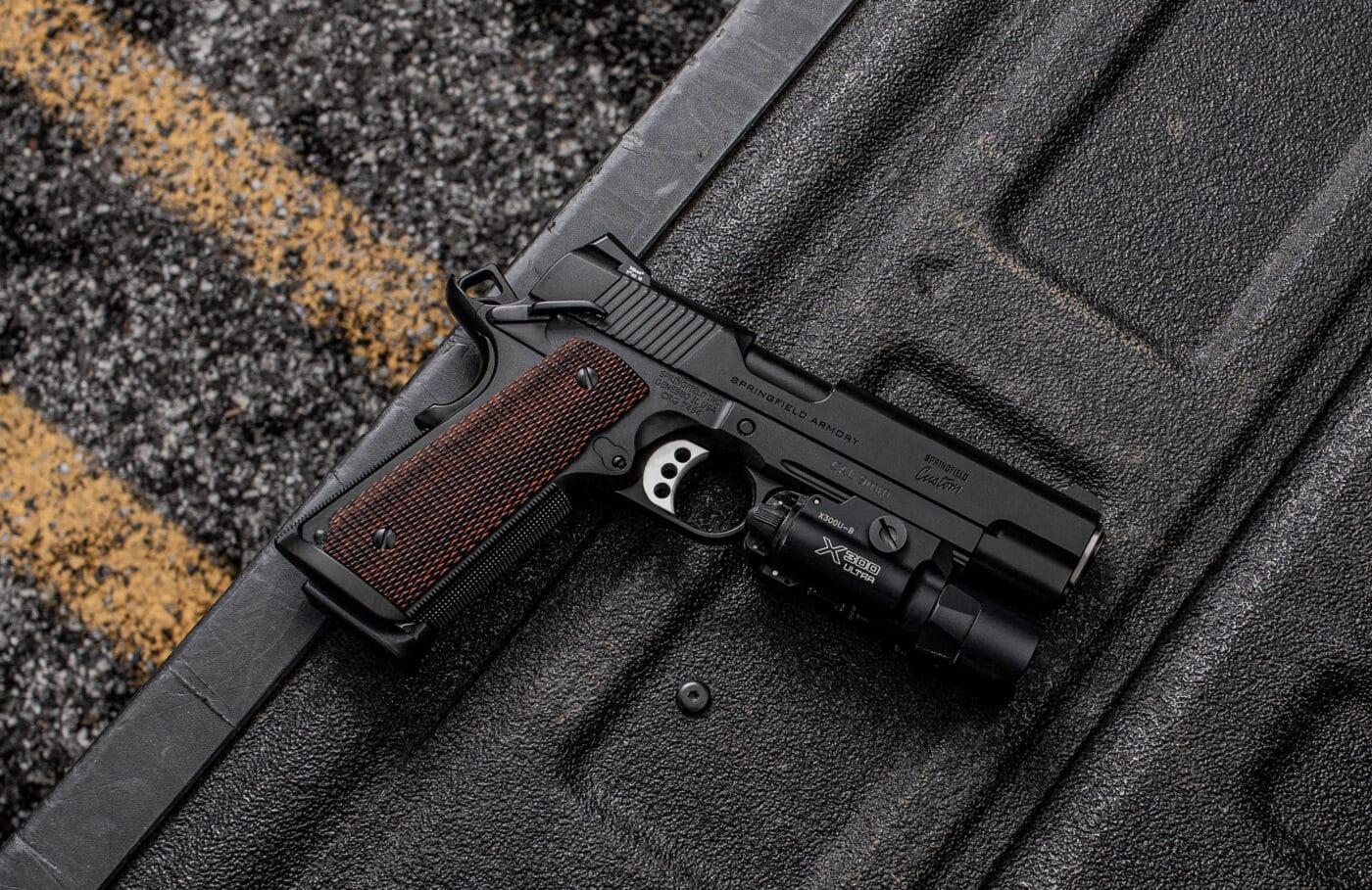 Springfield Armory Professional Light Rail 9mm pistol