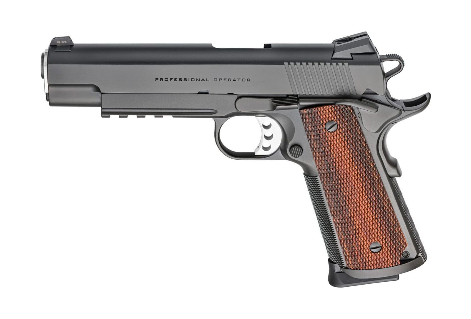 Springfield Armory 1911 9mm Custom Professional with a light rail