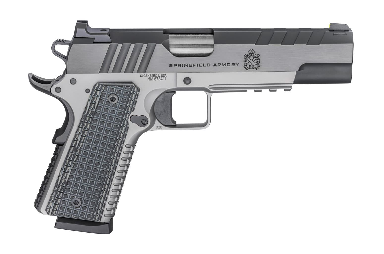 Side view of the Springfield Armory Emissary pistol