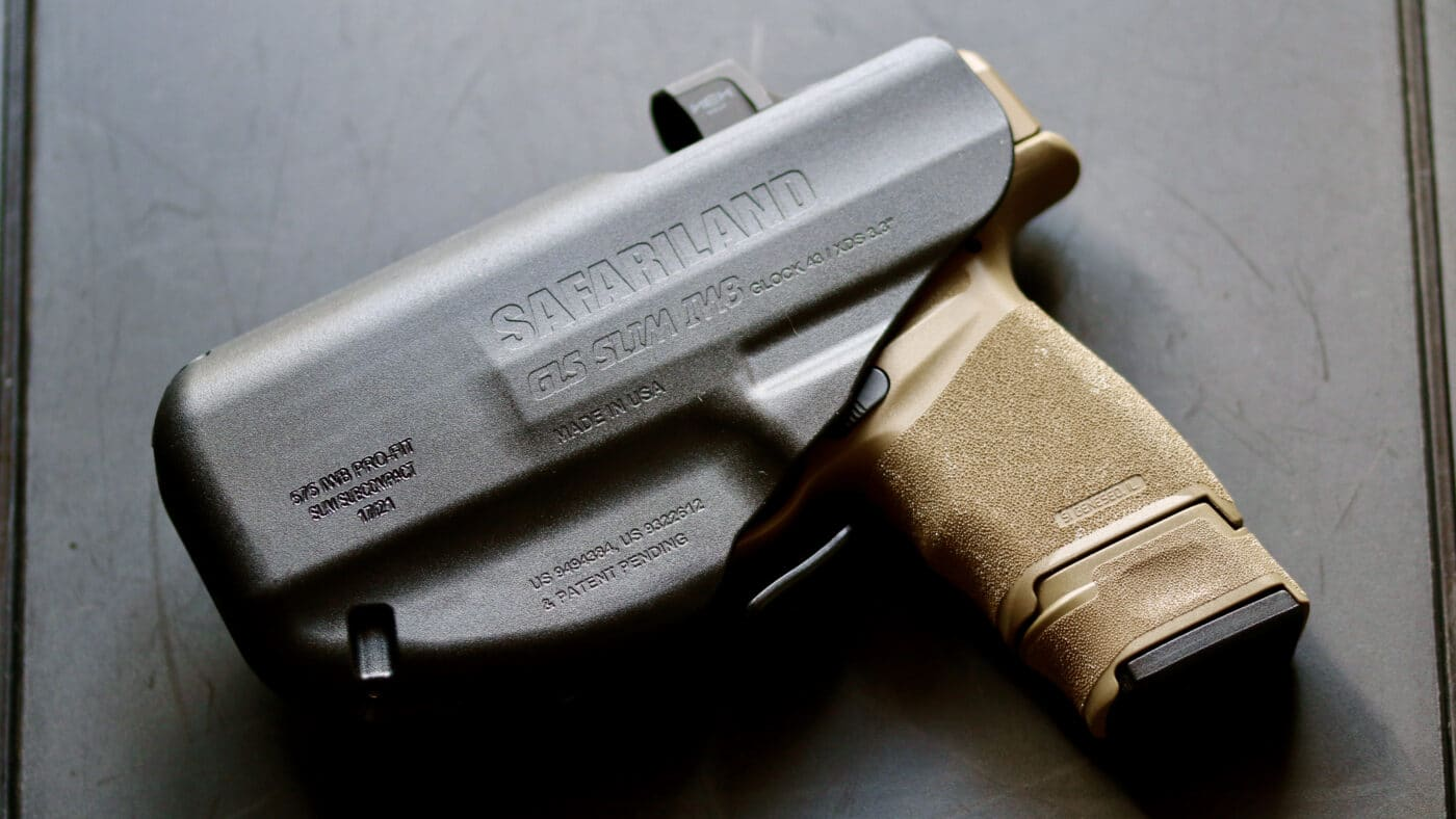 Safariland IWB Hellcat pistol in it