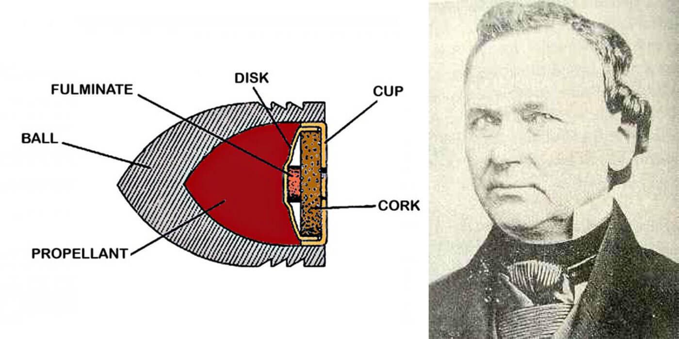 Rocket Ball and designer Walter Hunt
