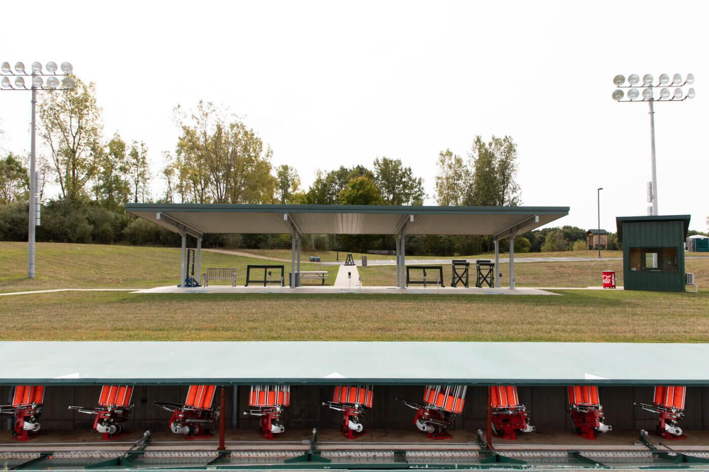 Hillsdale College trap range
