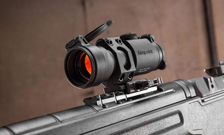 Aimpoint PRO optic on Springfield Amory M1A SOCOM 16 CQB