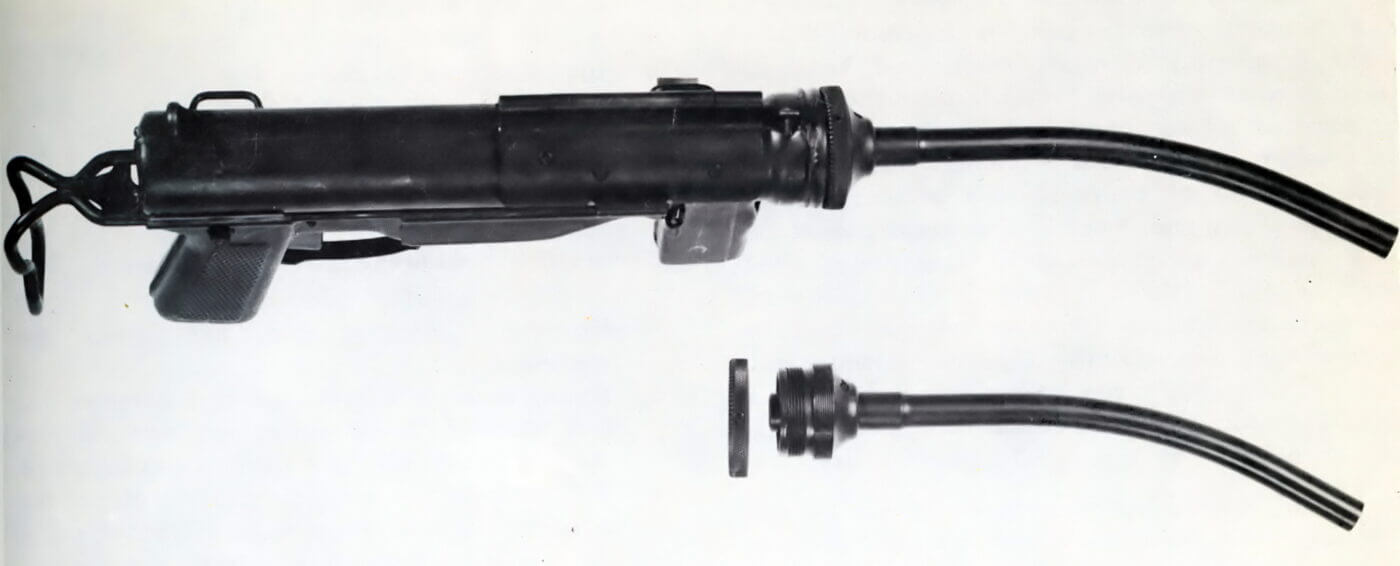M3A1 with curved barrel