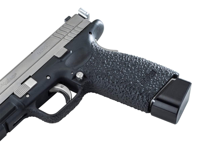 Robar grip texture on XD pistol