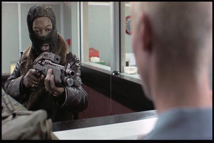 Shotgun held by actor in the movie Snatch