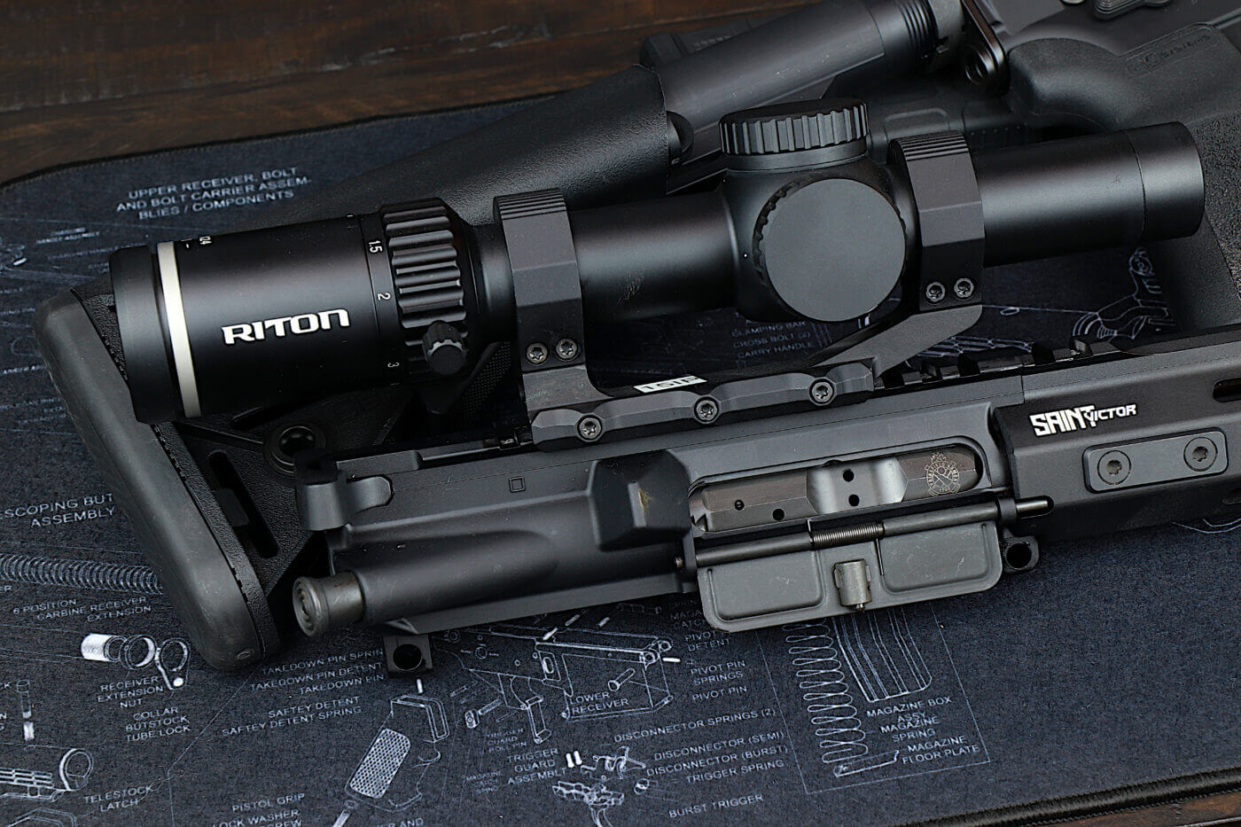 Second focal plane scope by Riton