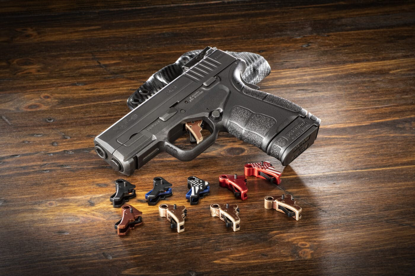 Apex Tactical trigger options for the Springfield XD-S Mod.2 pistol