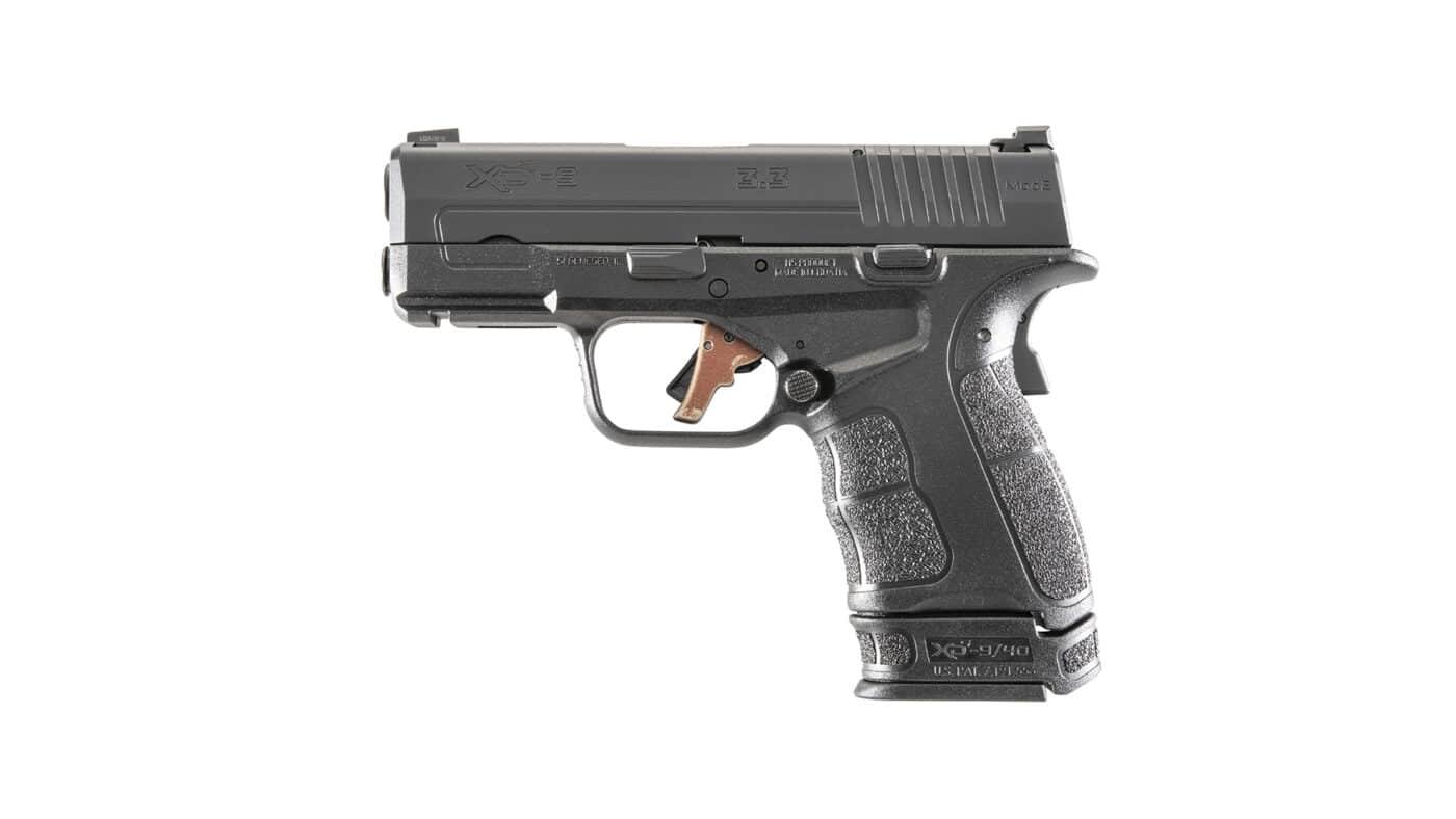 Battle Worn finish on Apex Trigger installed in XD-S Mod.2 pistol