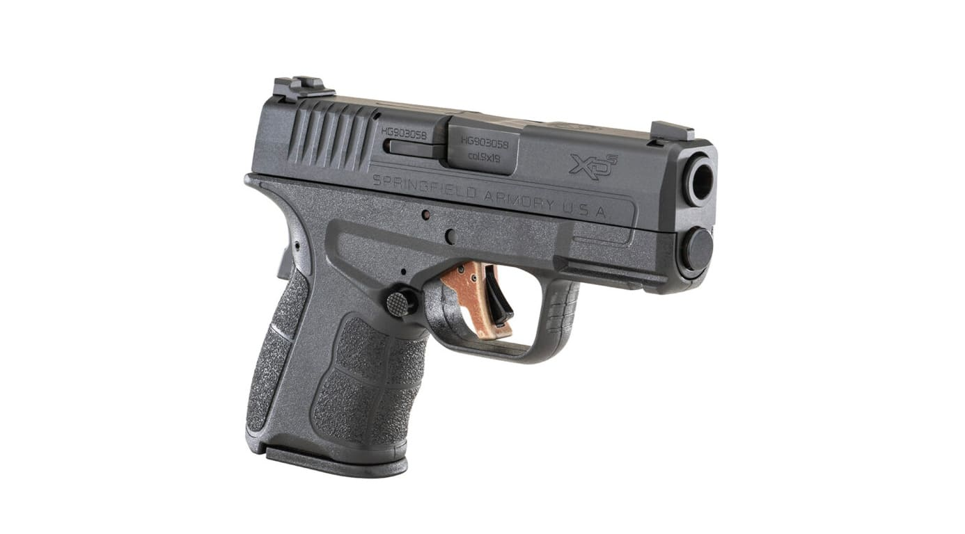 Apex Tactical trigger installed in a Springfield XD-S pistol