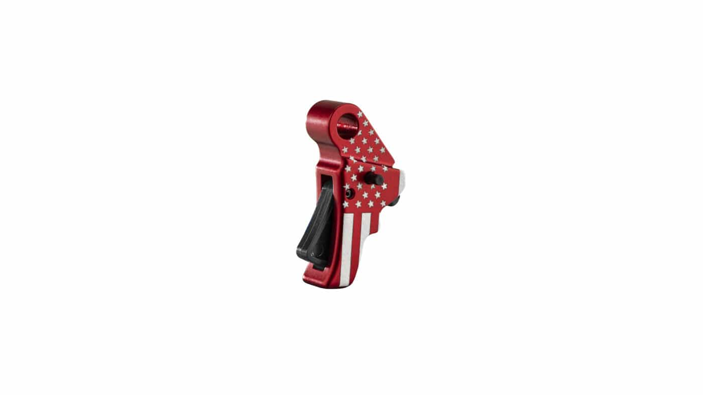 Freedom Edition Red trigger from Apex Tactical