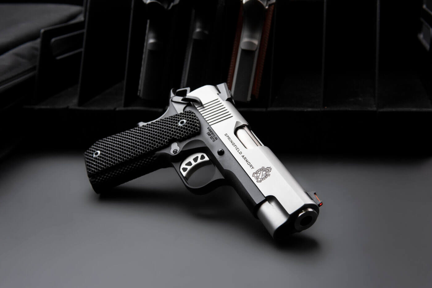 """Springfield EMP Concealed Carry Contour pistol with 4"""" barrel"""