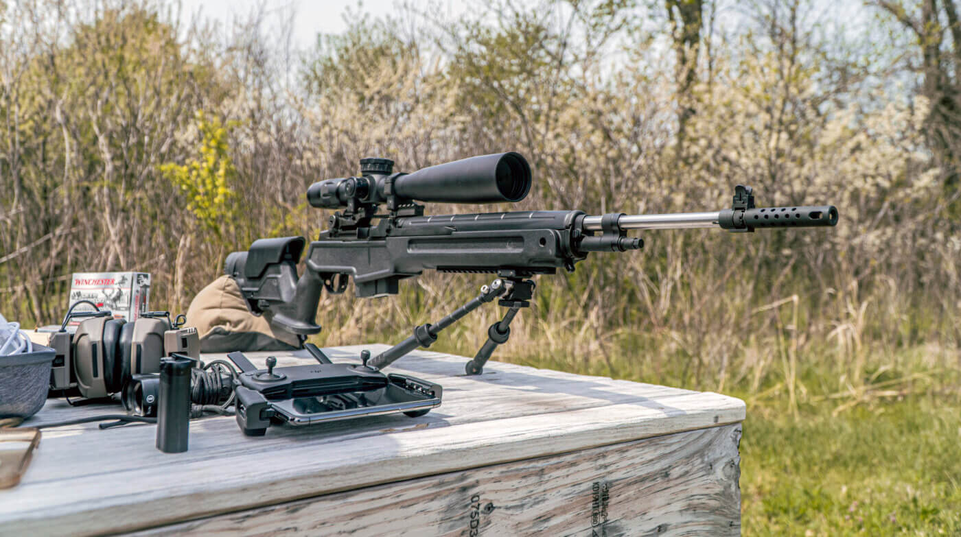 Bench testing the M1A Loaded Precision rifle