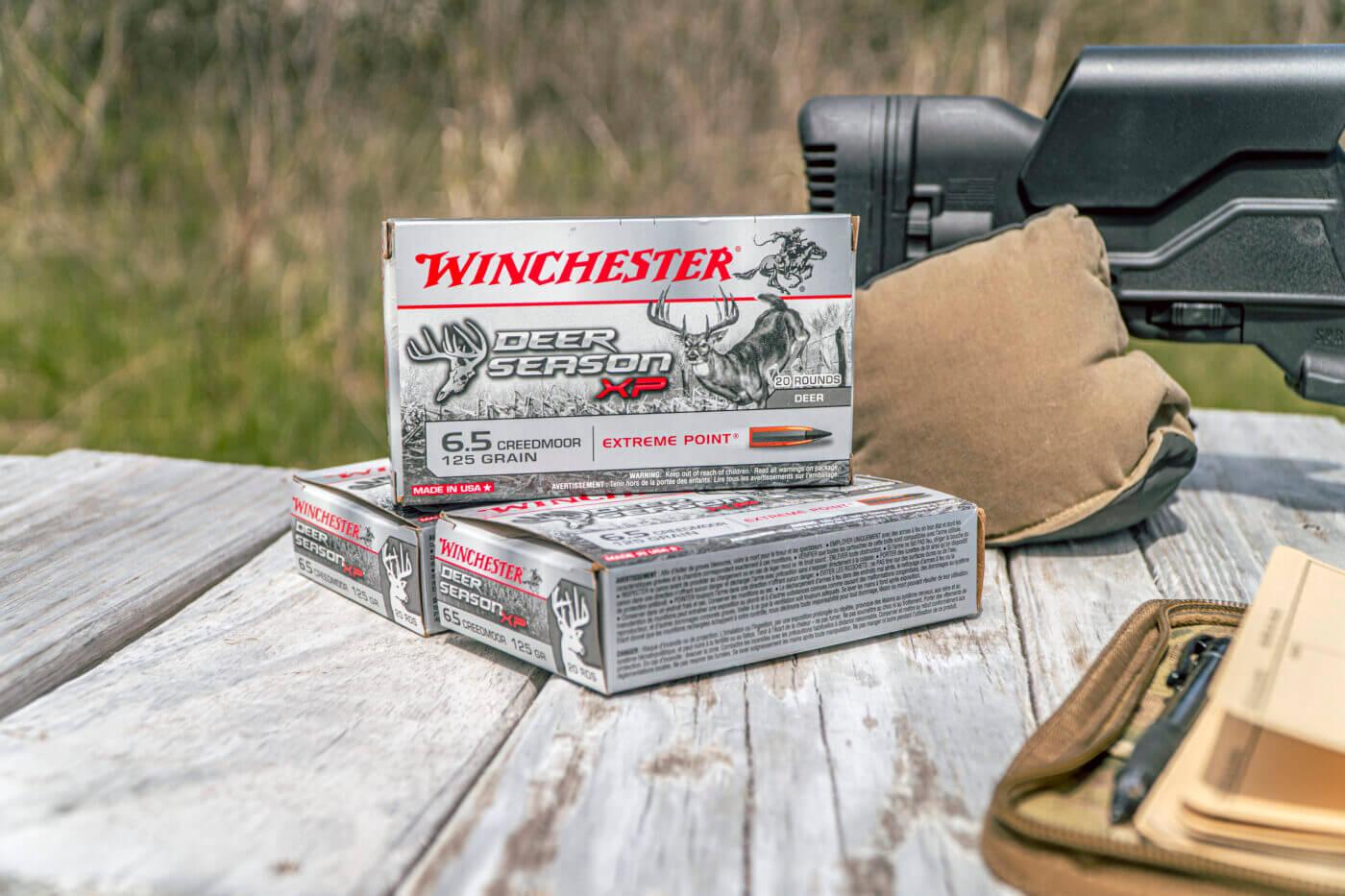 Winchester Deer Season XP on table