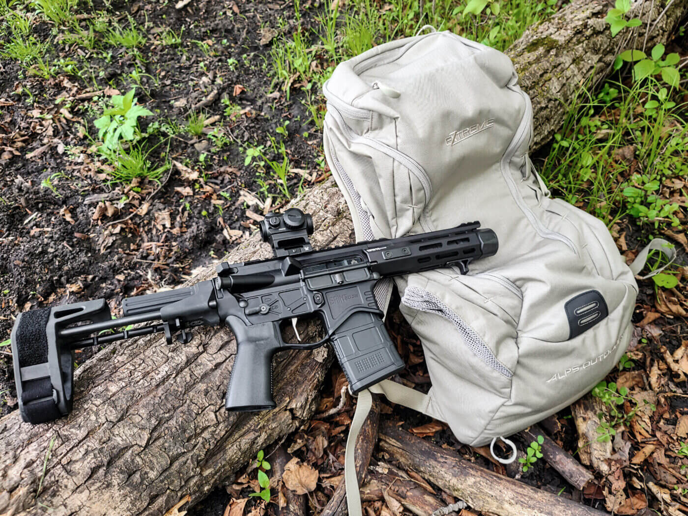 PDW with the ALPS Outdoorz Ghost 30 backpack