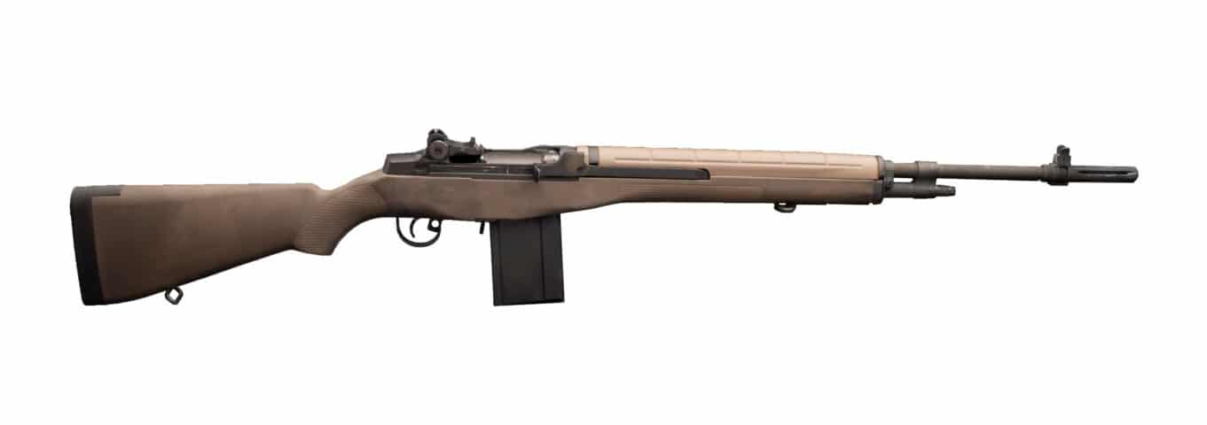 M1A used in testing