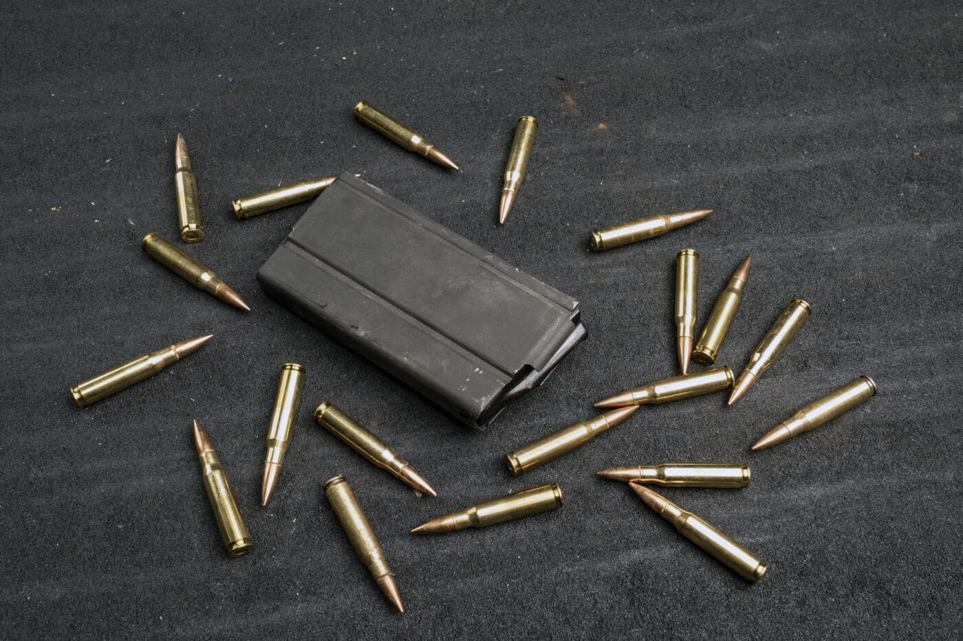 M1A magazine with ammo