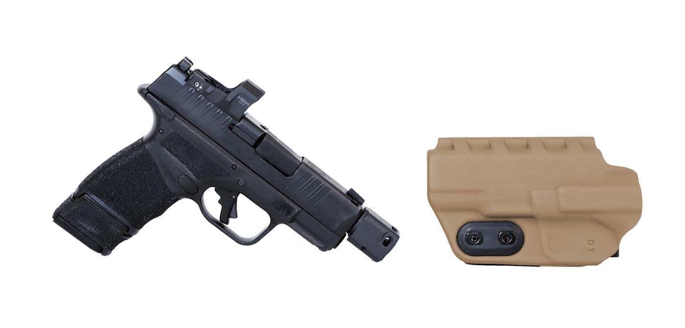 Springfield Hellcat with Slim-Tuk holster