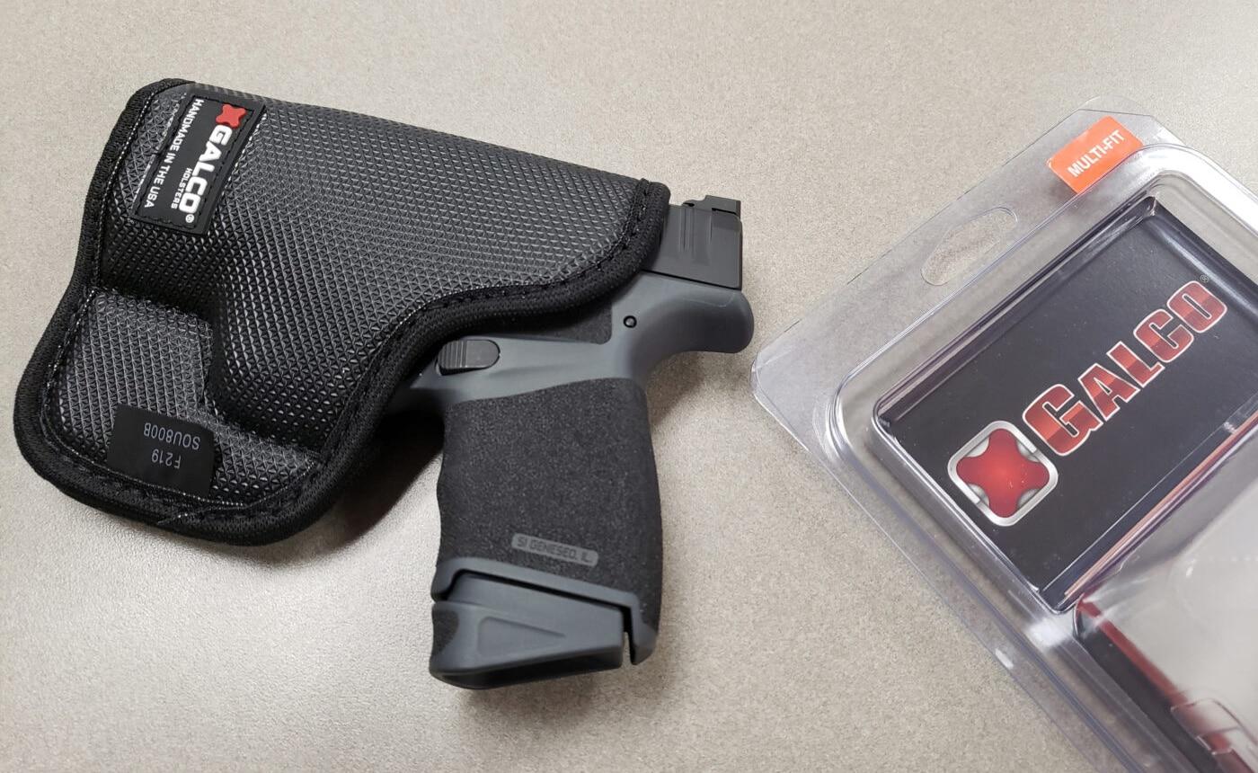 Galco StukOn-U pocket holster with a Springfield Hellcat