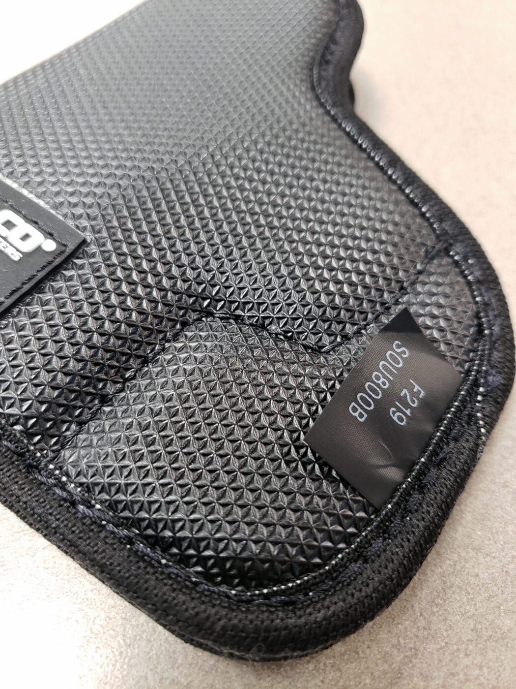 Exterior surface close-up of the StukOn-U pocket holster