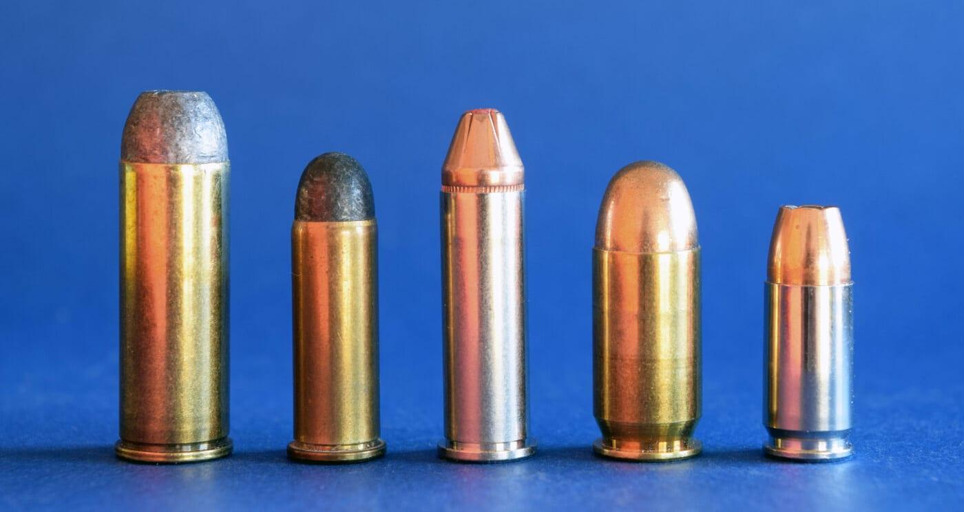U.S. military pistol cartridges